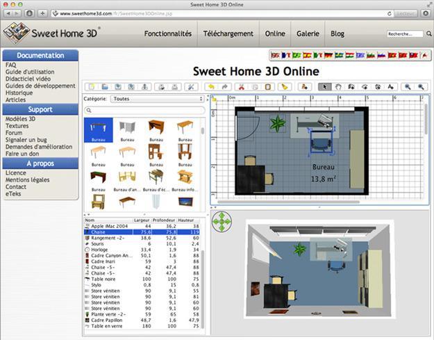 Как сделать в sweet home 3d